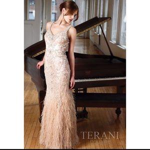 Terani couture evening dress 11212Gl